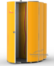 Changing Area for Tansun Viva Vertical Sunbed