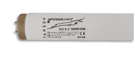 Tansun Power Max EU 0.3 180W/250 Sunbed Tube