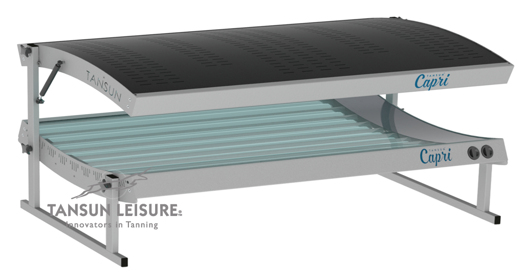 Tansun Capri lie down home hire sunbed