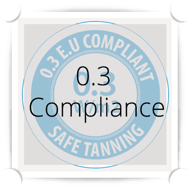 0.3 Compliance Window Sticker