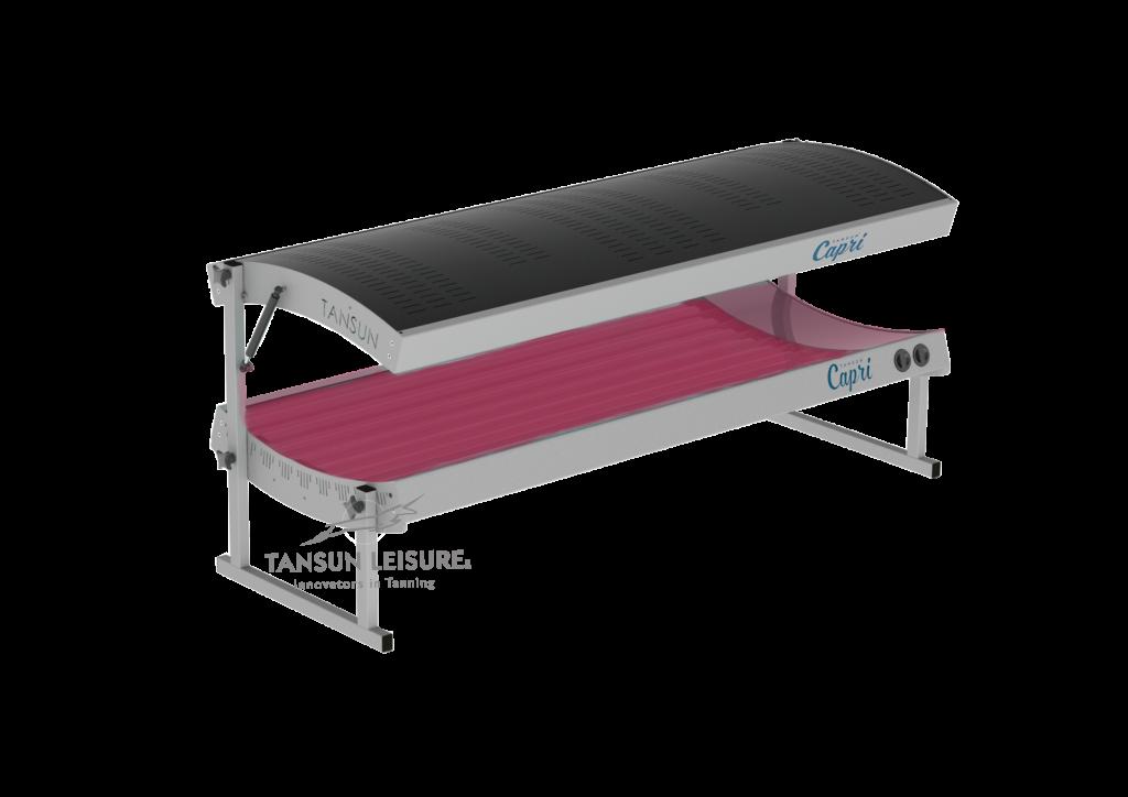 Tansun Capri Lie Down Collagen Unit in Grey