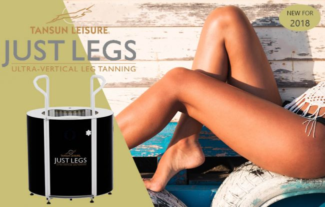 Tanned Legs with Tansun Vertical leg Tanner, Just Legs